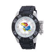 Game Time Beast Series Kansas Jayhawks Stainless Steel Watch - COL-BEA-KAN - Men