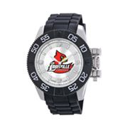 Game Time Beast Series Louisville Cardinals Stainless Steel Watch - COL-BEA-LOU - Men