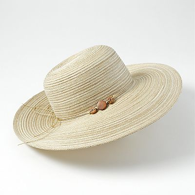 Croft and Barrow Radial Tweed Floppy Hat