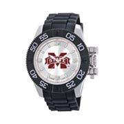 Game Time Beast Series Mississippi State Bulldogs Stainless Steel Watch - COL-BEA-MSS - Men