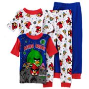 Angry Birds Space Astro Squak 4-pc. Pajama Set - Boys 4-12