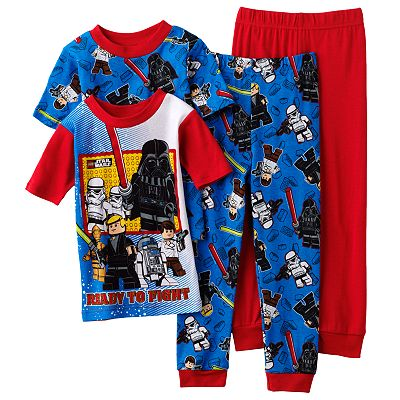 LEGO Star Wars Battle 4-pc. Pajama Set - Boys 4-12