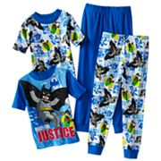 LEGO Batman 4-pc. Pajama Set - Boys 4-10