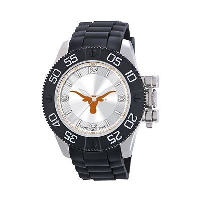 Game Time Beast Series Texas Longhorns Stainless Steel Watch - COL-BEA-TEX - Men
