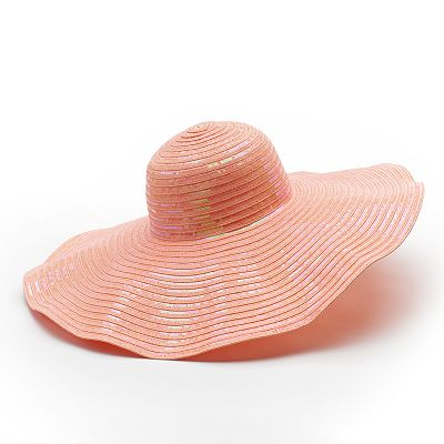 Candie's Sparkle Floppy Hat