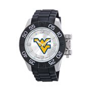Game Time Beast Series West Virginia Mountaineers Stainless Steel Watch - COL-BEA-WVU - Men