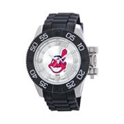 Game Time Beast Series Cleveland Indians Stainless Steel Watch - MLB-BEA-CLE - Men