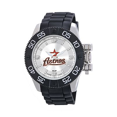 Game Time Beast Series Houston Astros Stainless Steel Watch - MLB-BEA-HOU - Men