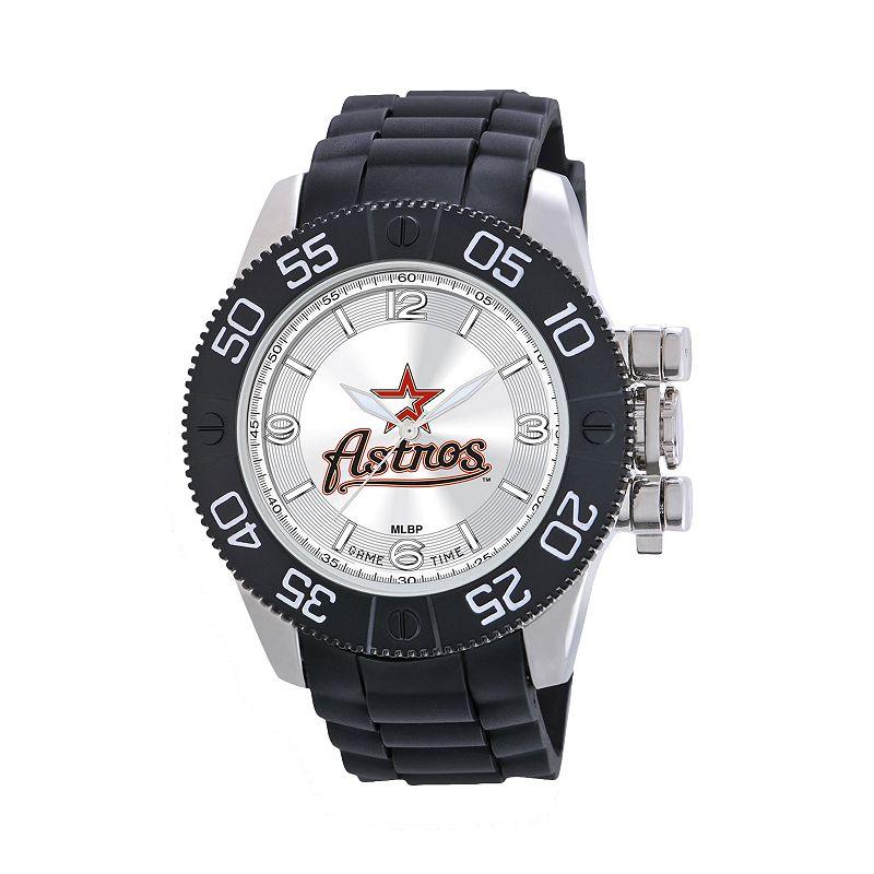 Game Time Beast Series Houston Astros Stainless Steel Watch - MLB-BEA-HOU - Men