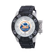 Game Time Beast Series New York Mets Stainless Steel Watch - MLB-BEA-NYM - Men