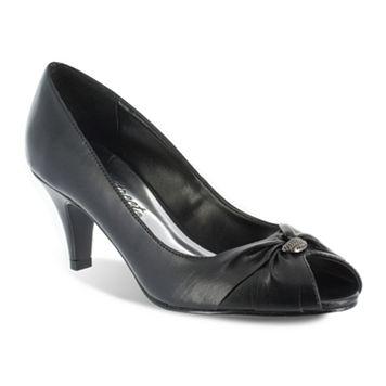 Easy Street Sunset Women's Peep-Toe Dress Heels