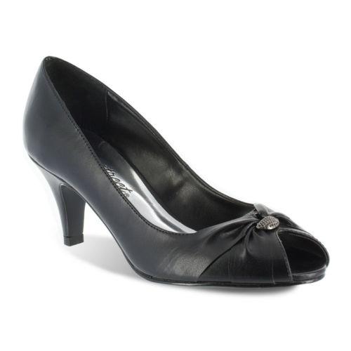 Easy Street Sunset Women's ... Peep-Toe Dress Heels
