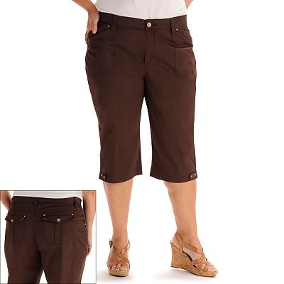 Lee Delancey Comfort Waist Skimmer Pants - Women's Plus