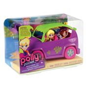 Polly Pocket Drive 'N Slide Car by Mattel