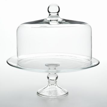 Libbey Selene 2-pc. Cake Dome Set