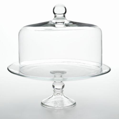 Libbey Selene 2-pc. Cake Dome Set