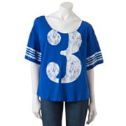 Derek Heart Dolman Football Tee - Juniors