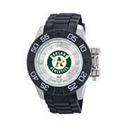 Game Time Beast Series Oakland Athletics Stainless Steel Watch - MLB-BEA-OAK - Men