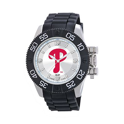 Game Time Beast Series Philadelphia Phillies Stainless Steel Watch - MLB-BEA-PHI - Men