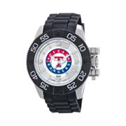 Game Time Beast Series Texas Rangers Stainless Steel Watch - MLB-BEA-TEX - Men