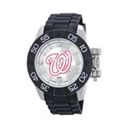 Game Time Beast Series Washington Nationals Stainless Steel Watch - MLB-BEA-WAS - Men