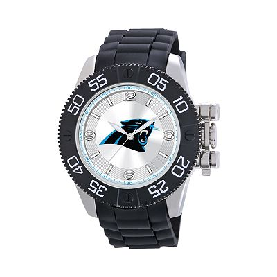 Game Time Beast Series Carolina Panthers Stainless Steel Watch - NFL-BEA-CAR - Men