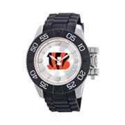 Game Time Beast Series Cincinnati Bengals Stainless Steel Watch - NFL-BEA-CIN - Men