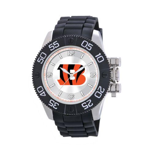 Game Time Beast Series Cincinnati Bengals Stainless Steel Watch - NFL-BEA-CIN - Men