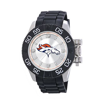 Game Time Beast Series Denver Broncos Stainless Steel Watch - NFL-BEA-DEN - Men