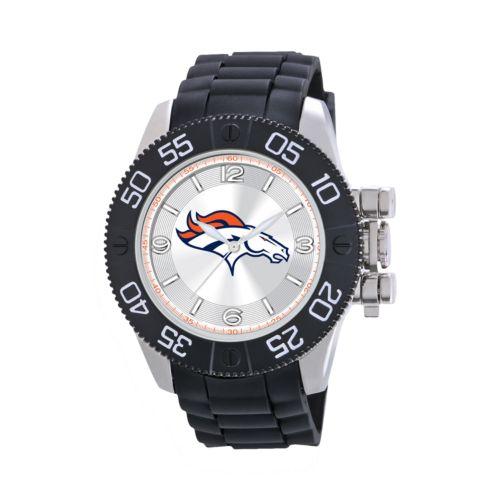 Game Time Beast Series Denver Broncos Stainless Steel Watch - NFL-BEA-DEN - Men