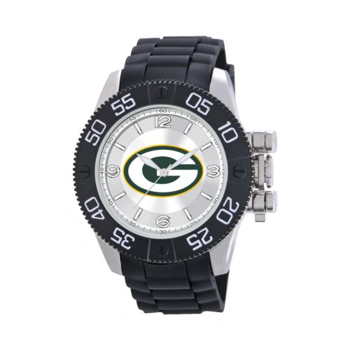 Game Time Beast Series Green Bay Packers Stainless Steel Watch - NFL-BEA-GB - Men