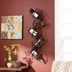 Marco 5-Bottle Wall-Mount Wine Rack