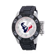 Game Time Beast Series Houston Texans Stainless Steel Watch - NFL-BEA-HOU - Men