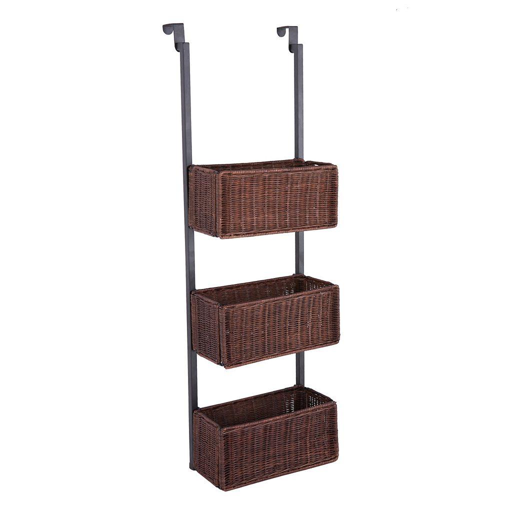 Andora 3-Tier Over-The-Door Storage Basket