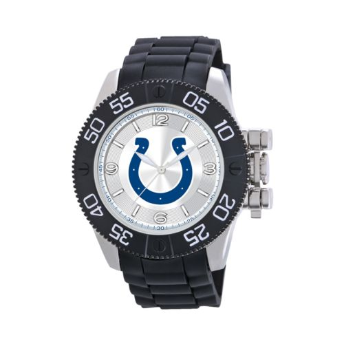 Game Time Beast Series Indianapolis Colts Stainless Steel Watch - NFL-BEA-IND - Men