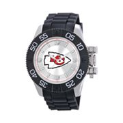 Game Time Beast Series Kansas City Chiefs Stainless Steel Watch - NFL-BEA-KC - Men