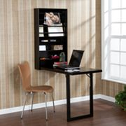 Wall-Mounted Fold-Out Desk