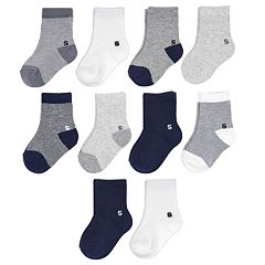 Toddler Boy Jumping Beans® 10-pk. Crew Socks