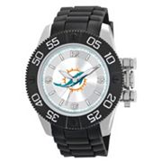 Game Time Beast Series Miami Dolphins Stainless Steel Watch - NFL-BEA-MIA - Men