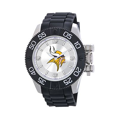 Game Time Beast Series Minnesota Vikings Stainless Steel Watch - NFL-BEA-MIN - Men