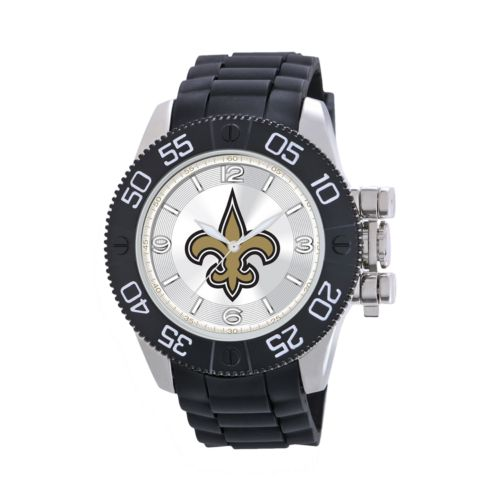 Game Time Beast Series New Orleans Saints Stainless Steel Watch - NFL-BEA-NO - Men
