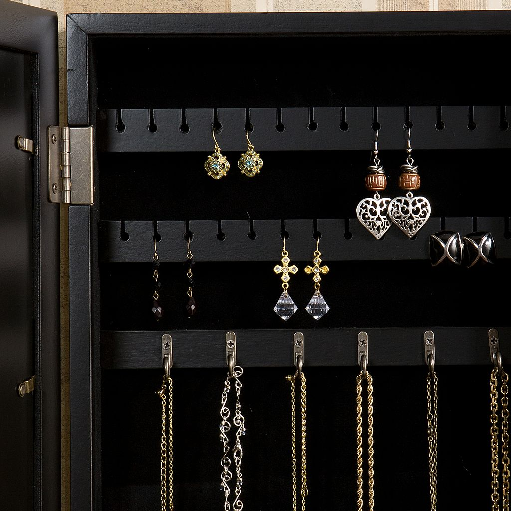 Photo Display 3-Photo Wall Jewelry Armoire