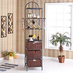 Larissa Kitchen Storage Tower
