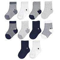 Baby Boy Jumping Beans® 10 pkLow-Cut Socks