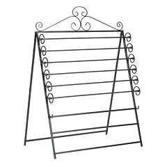 Oryan Easel/Wall-Mount Craft Storage Rack