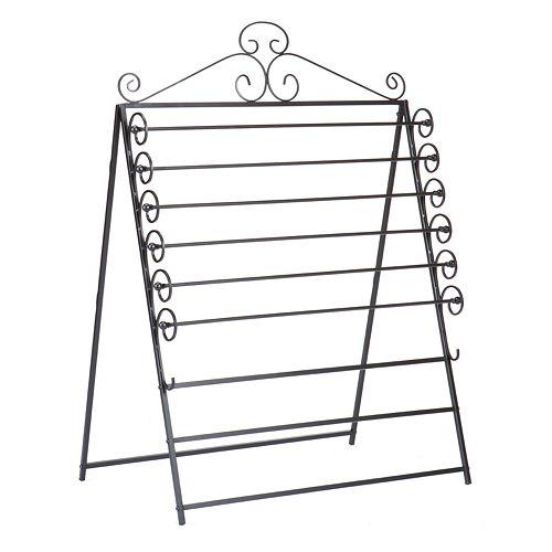 Oryan Easel/Wall-Mount Craft Storage Rack