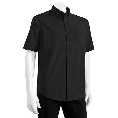 Croft and Barrow Easy-Care Pinstripe Casual Button-Down Shirt - Big and Tall