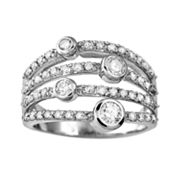 10k White Gold 1-ct. T.W. Diamond Ring