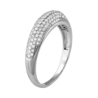 10k White Gold .47-ct. T.W. Diamond Ring