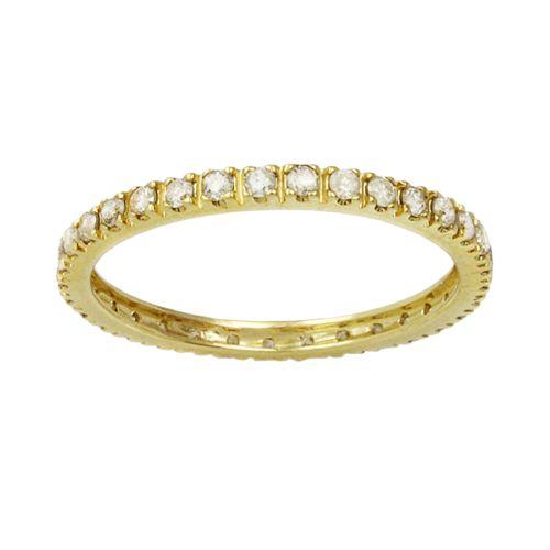 10k Gold 1/2-ct. T.W. Diamond Eternity Wedding Band